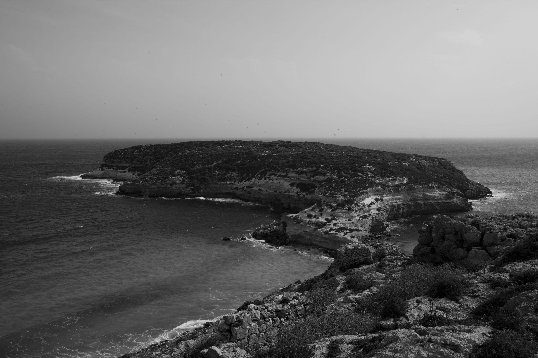 Lampedusa (AG), 23/04/2013, l'Isola dei Conigli.